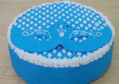 Purim Mask Cake