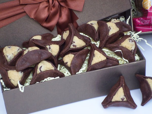 Gourmet Hamantashen- Part 2 – Chocolate Chip Filled Hamentashen