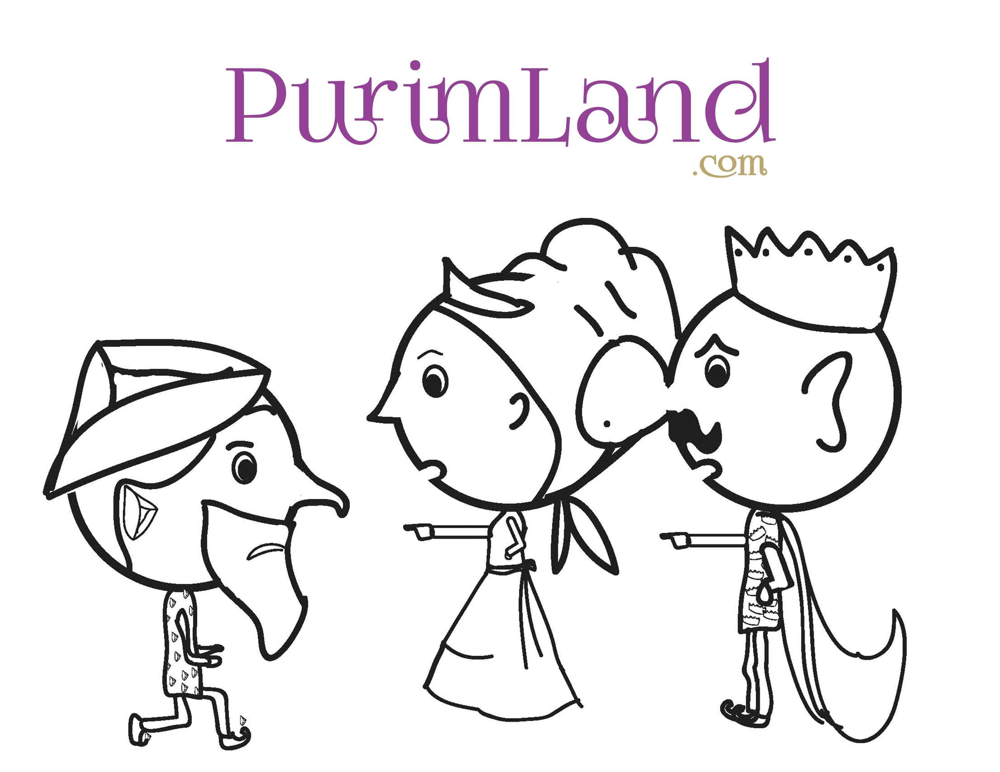 Coloring Pages Part 1 - PurimLand